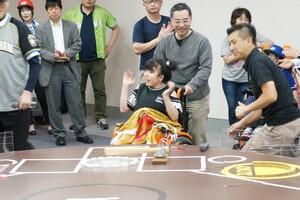 チャレスポ!TOKYO ユニバーサル野球 ブース 初出展
